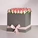 Premium Pink Roses Box Arrangement