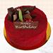 1 Kg Red Velvet Cake For Birthday