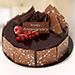 1.5 Kg Fudge Cake For Anniversary