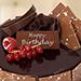 1.5 Kg Fudge Cake For Birthday