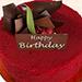 500gm Red Velvet Cake For Birthday