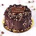 Crunchy Chocolate Hazelnut Cake 8 Portion for anniversary