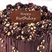 Crunchy Chocolate Hazelnut Cake 12 Portion for Birthday