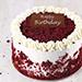 1 Kg Creamy Red Velvet Cake for Birthday