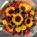 Mixed Sunflowers Bouquet