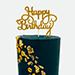 Happy Birthday 1 Kg Marble Theme Cake