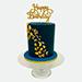 Happy Birthday 1.5 Kg Black Forest Theme Cake