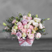 Enticing Mixed Flowers Basket