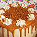 Butterscotch Cake- 1.5 Kg