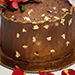 Chocolate Cake With Flower- 1 Kg