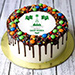 National Day M&M Chocolate Cake 1 Kg